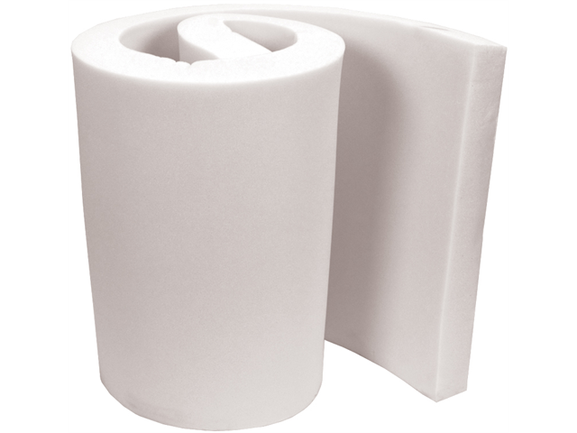 "High Density Urethane Foam Sheet 3""X24""X10'-White FOB:MI"