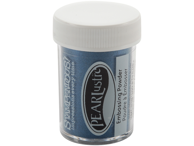 Large Pearl Lustre Embossing Powder -Sapphire