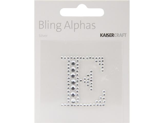 Bling Alphas Self-Adhesive Rhinestone Letter 1.375
