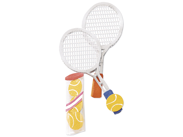 Jolee's By You Dimensional Embellishment-Tennis