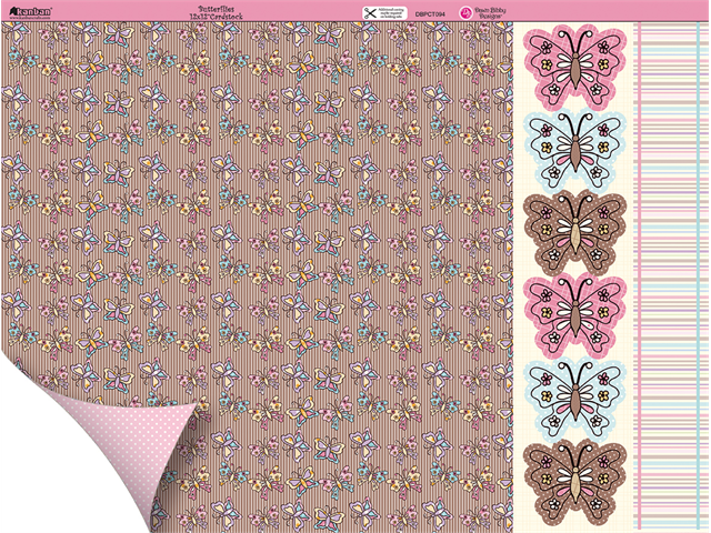 Dawn Bibby Double-Sided Plus Cardstock 12