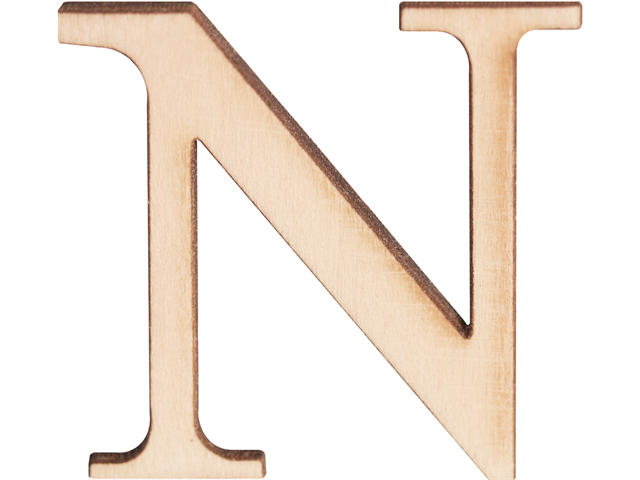 Wood Letters & Numbers 1-1/2
