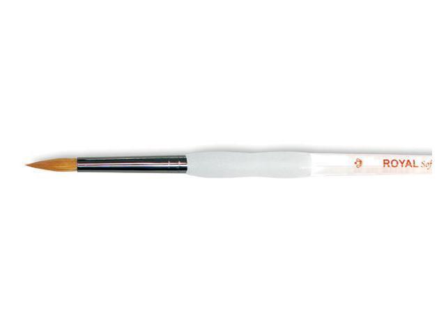 Soft-Grip Combo Round Brush-Size 4
