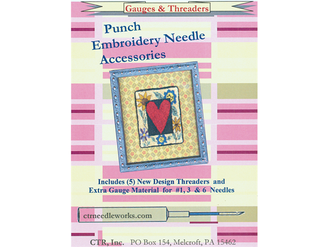 Punch Embroidery Needle Gauges & Threaders-