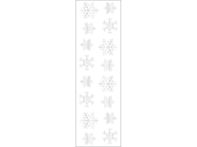 Mrs. Grossman's Stickers-Snowflakes