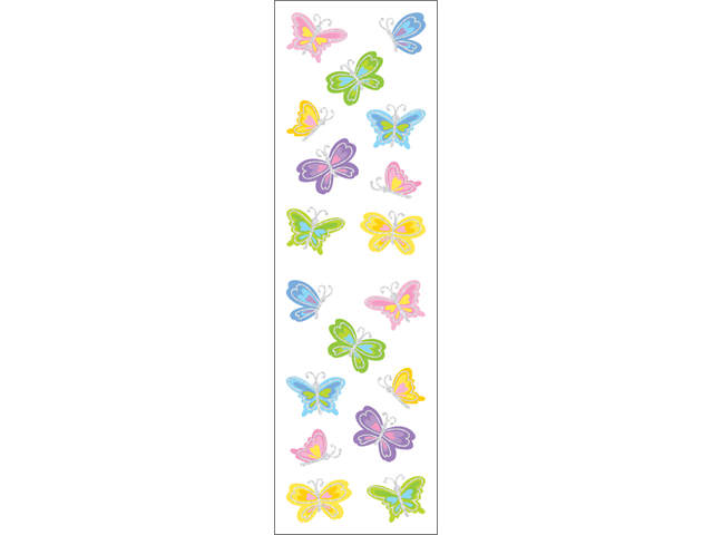 Mrs. Grossman's Stickers-Petite Butterflies