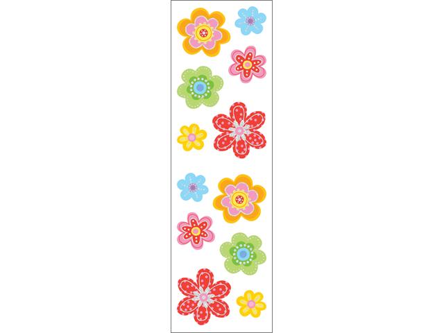 Mrs. Grossman's Stickers-Delightful Flowers