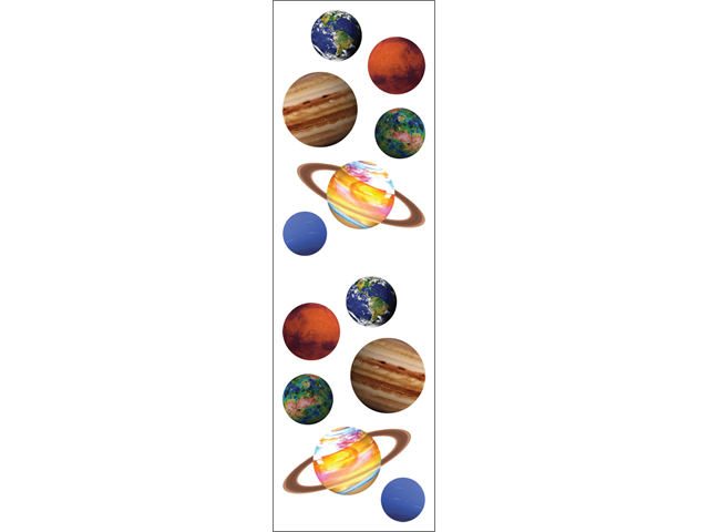 Mrs. Grossman's Stickers-Planets
