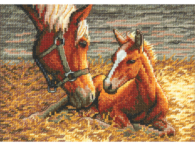 Gold Collection Petite Good Morning Counted Cross Stitch Kit-7