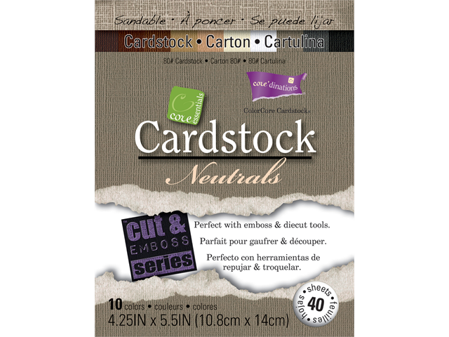 Core'dination Core Essential Cardstock 4.25