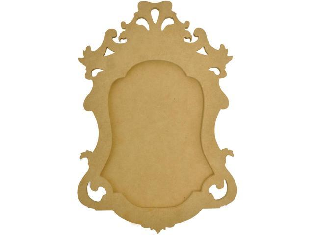 Beyond The Page MDF Small Ornate Frame-14.25