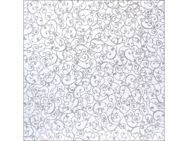 American Crafts Patterned Glitter Cardstock 12