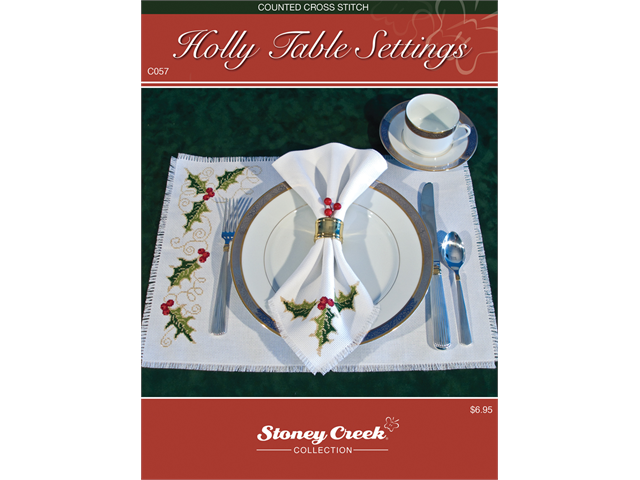 Stoney Creek Chart Packs-Holly Table Settings