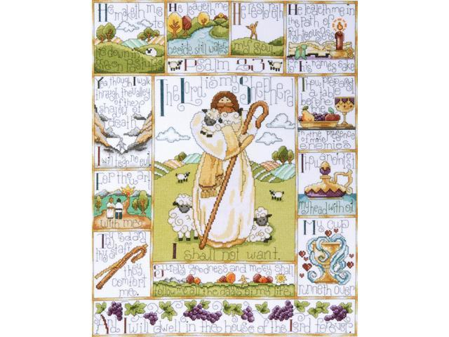 23rd Psalm Counted Cross Stitch Kit-16