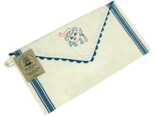 Vintage Stripe Sewing Sack 18