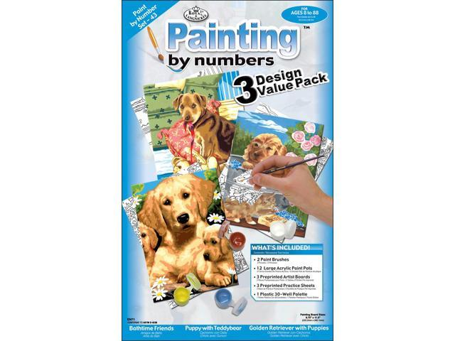 Paint By Number Kit 8-3/4