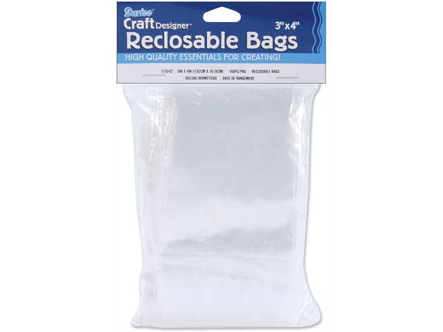 Reclosable Clear Storage Bags-3