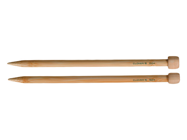 Bamboo Single Point Knitting Needles 9
