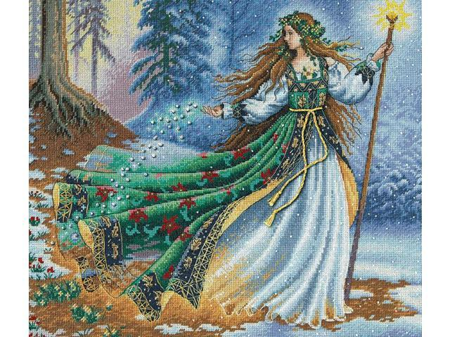 Gold Collection Woodland Enchantress Counted Cross Stitch Ki-14