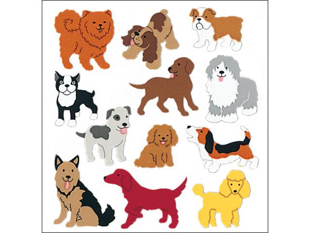 Sandylion Classpak Stickers-Dogs