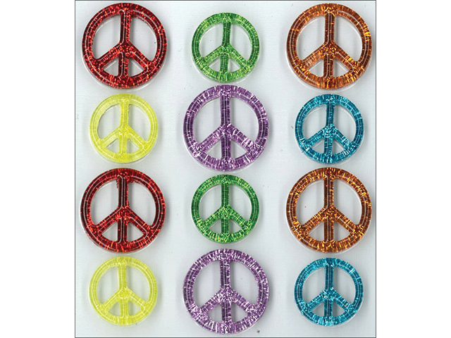 Jolee's Cabochons-Peace Signs