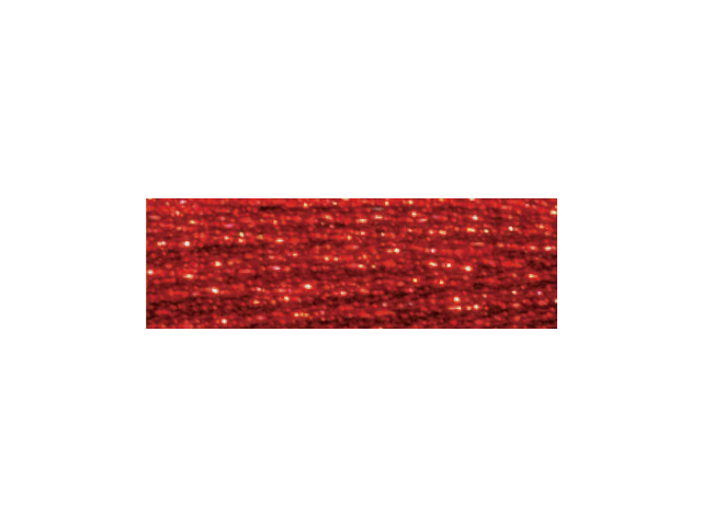 DMC Light Effects Embroidery Floss 8.7 Yards-Red Ruby