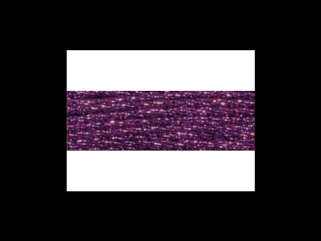 DMC Light Effects Embroidery Floss 8.7 Yards-Pink Garnet