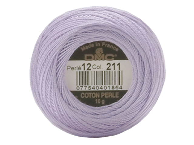 DMC Pearl Cotton Balls Size 12 - 141 Yards-Light Lavender