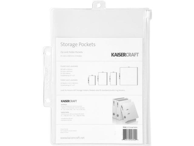 Pack & Store Storage Pockets A5 (8.25