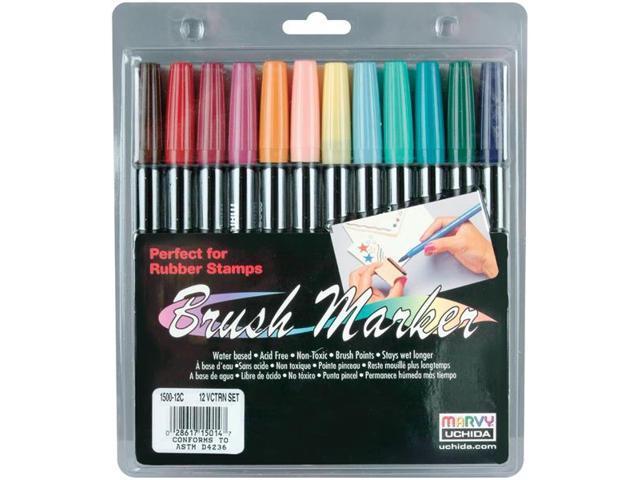 Brush Markers 12/Pkg-Victorian