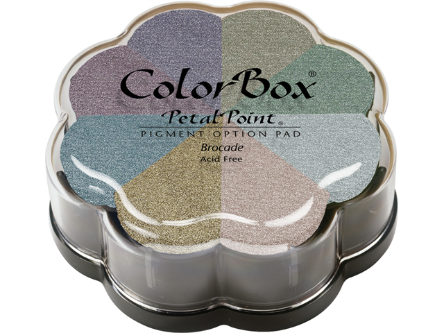 Colorbox Pigment Petal Point Option Pad 8 Colors-Metalextra Brocade
