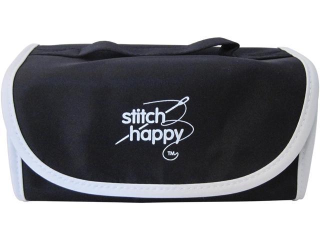 Stitch Happy Fold N Go Notions Box-Black/White