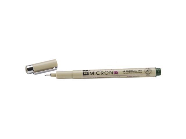 Pigma Micron Pen .45mm Open Stock-Hunter Green