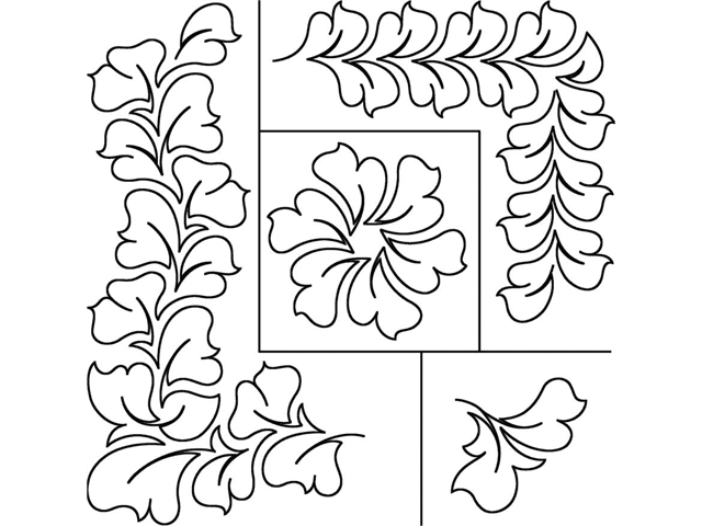 Quilt Stencils By Patricia Ritter-Hyacinth 17