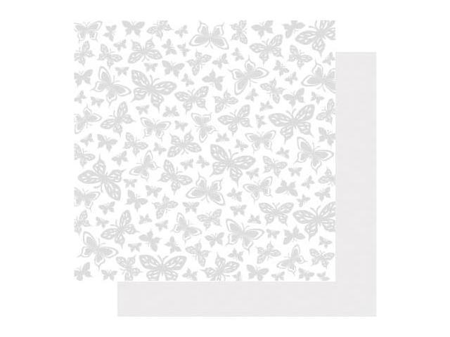 Simply Elegance Basic Glitter Double-Sided Paper 12