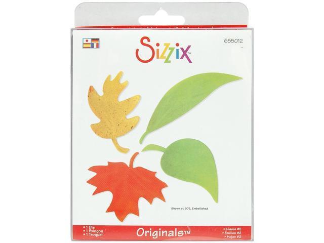 Sizzix Originals Die-Large Leaves #2