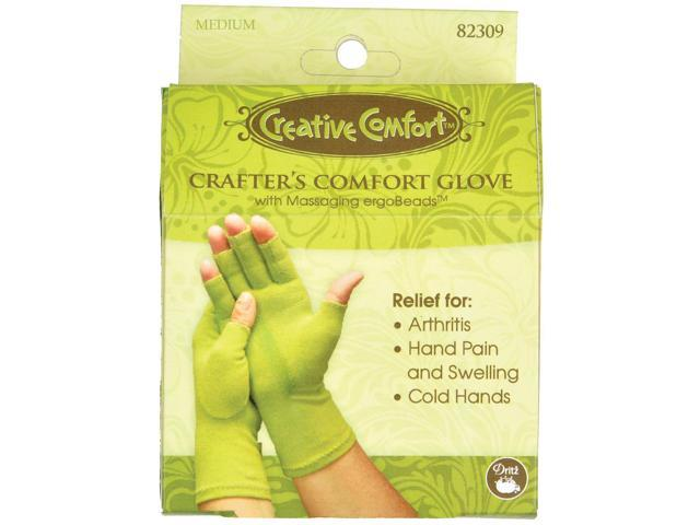 Creative Comfort Crafter's Comfort Glove-Medium