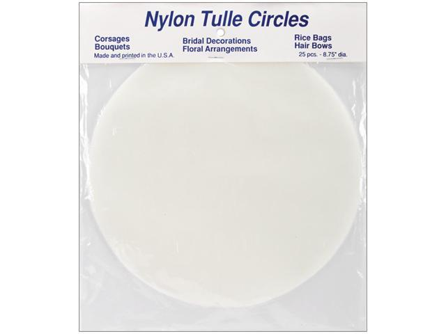 Tulle Circles 8-3/4