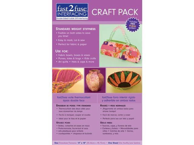 Fast2fuse Craft Pack Interfacing Regular Weight-14