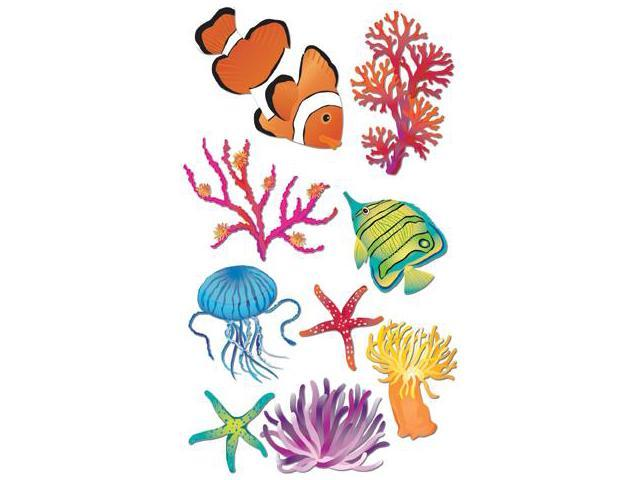 Jolee's Boutique Le Grande Dimensional Sticker-Sea Anemone