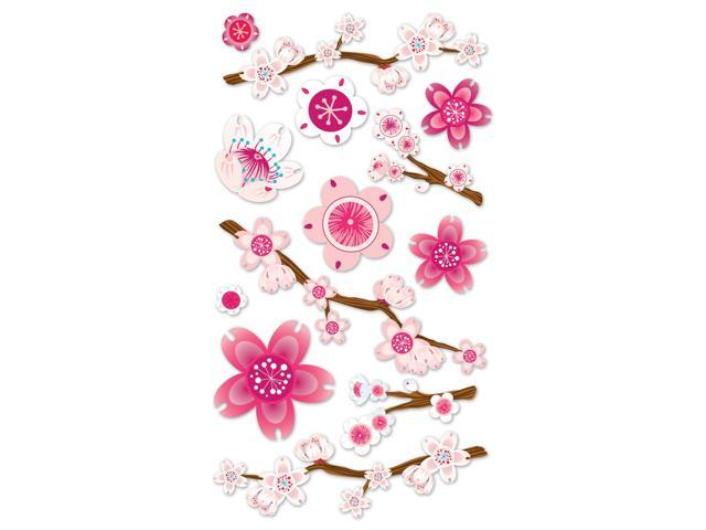 Vellum Stickers-Cherry Blossom
