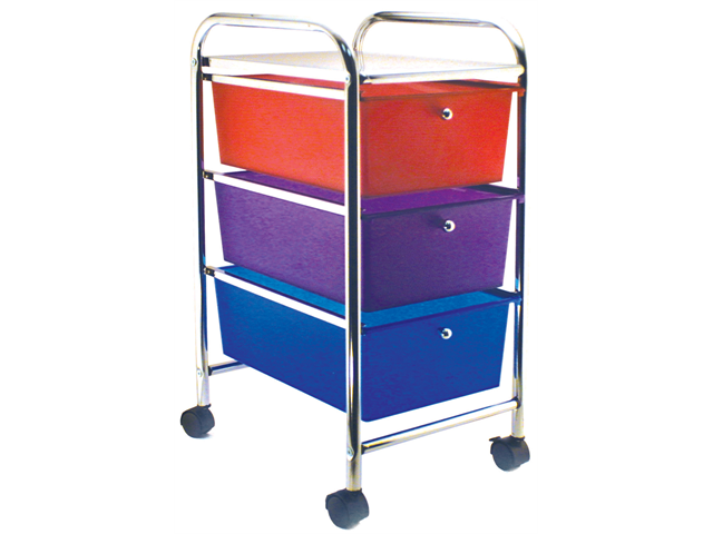Advantus CH34081 Cropper Hopper Home Center Rolling Cart