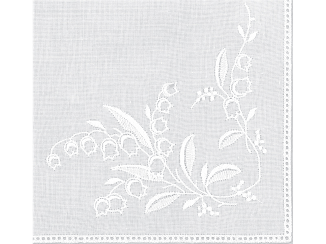 Cotton Handkerchief 9-1/2