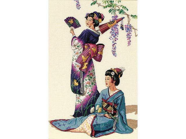 Gold Collection Jewels Of The Orient Counted Cross Stitch Ki-11