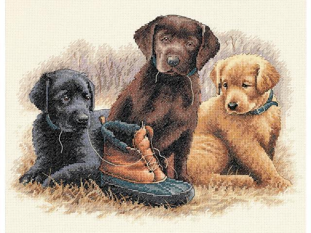 Chew Toy Counted Cross Stitch Kit-14