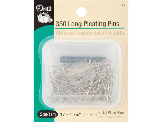 Long Pleating Pins-Size 17 350/Pkg