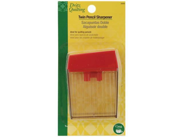 Dritz Quilting Twin Pencil Sharpener-