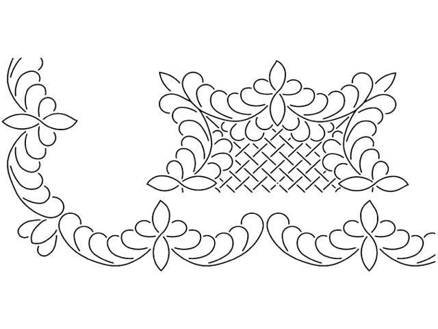 Quilt Stencils By Barbara Chainey-3