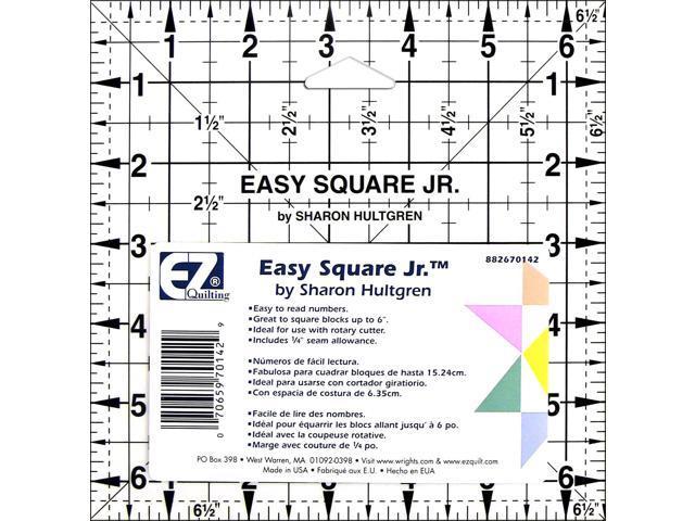 Easy Square Jr.-6-1/2