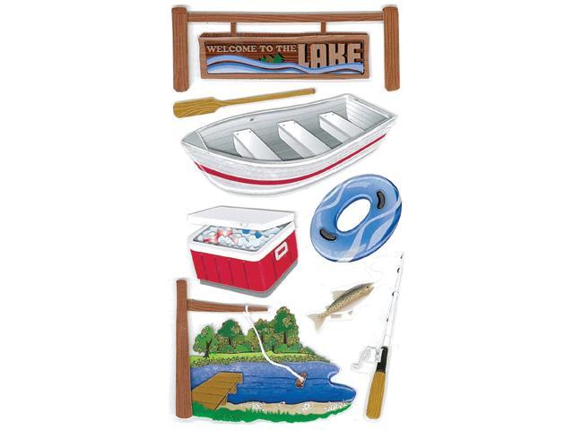 Jolee's Boutique Le Grande Dimensional Sticker-Lake Activities